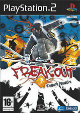 FREAK OUT EXTREME FREERIDE for Playstation 2 PS2 - with box & manual - PAL