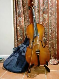 Cello half size outfit with bow and case