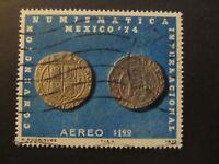 1975 - MEXICO - FOUR REALES COINS 1635 - SCOTT C461 AP204 1,60P