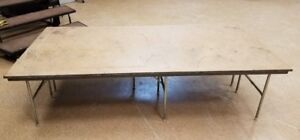 4X8  PLATFORM PORTABLE STAGEs RISERS- CAN SHIP! 3 for only $1000!