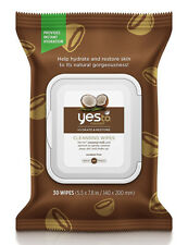 Yes To Coconut Organic Hydrate & Restore Cleansing Facial Wipes Face Cloths x 30