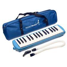 Rocket 32 Key Plastic Melodica - Blue