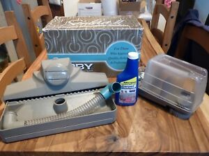 KIRBY SENTRIA 2 ( II ) CARPET SHAMPOO SYSTEM, BOXED WITH NEW FLUID, LITTLE USE