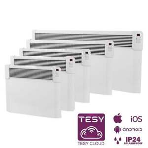 Tesy Panel Electric Convector Cloud CN 04 Wall Mounted With Control Via Internet