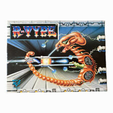 R-TYPE It's Your Only Defence Atari ST Boxed Sci-Fi Retro Game Untested