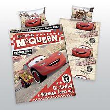 Herding Disney Cars Baby  Bettwäsche Biber  40 x 60 cm + 100 x 135 cm Flanell