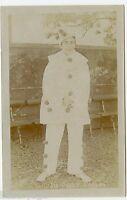 Percy Davison, Theater Player, Clown Vintage Photo Postcard by S. King, London