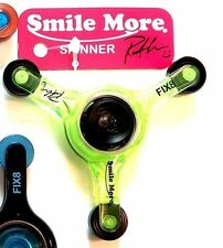 Roman Atwood Smile More Fidget Spinner Collection #2 BRAND NEW SOLD OUT GREEN