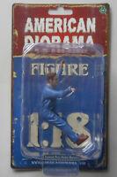 "MECHANIC FRANK UNDER HOOD AMERICAN DIORAMA 1:18 Scale Figurine 4"" Male Figure"