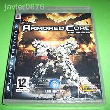 ARMORED CORE FOR ANSWER NUEVO Y PRECINTADO PAL ESPAÑA PLAYSTATION 3
