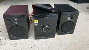 TEAC CD/USB/DVD Micro Hi-Fi Stereo System MCDV70