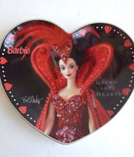 Barbie Decorative Plate Heart Shaped Queen Of Hearts By Bob Mackie