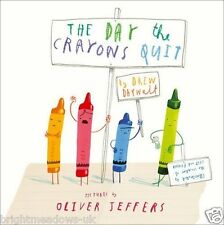 Day The Crayons Quit Childrens Book Kids Story Gift Ages 3 4 5 6 Years Colouring