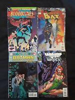 Batman Shadow of the Bat Annuals #1, 2, 3, 5 VF/NM