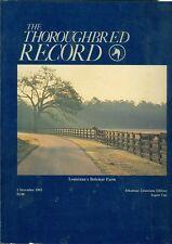 1982 Thoroughbred Record Magazine: Louisiana's Bolemar Farm/Japan Cup