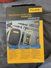 Fluke 179eda2 True Rms Digital Multimeter Deluxe Accessory Combo Kit Msrp 485