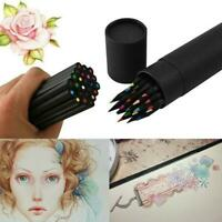 24 Farben Oil Art Pencils Sketching Drawing Artist Adult Ungiftiges farbiges