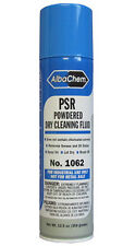 PSR Powdered Dry Cleaning Fluid Brush Off Spot Remover remove oil grease stains