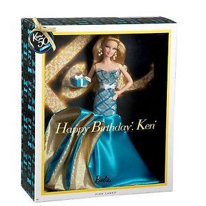 Happy Birthday Ken Barbie Doll  MIB!! NRFB!!