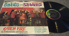"""Saints and Sinners All Star Jazz Band """"Catch Fire"""" LP St. Louis, MO"""