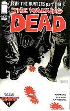 The Walking Dead 63 1st Chew flip book NM KIRKMAN signed ADLARD FREE UK POST