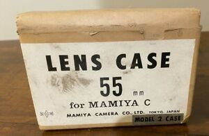 Brand new Mamiya Hard Case for 55mm C series lens / lenses