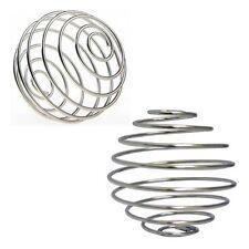 5Pcs Wire Whisk Milkshake Protein Mixer Blender Mixing Shaker Stainless ball HOT