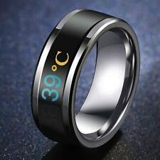 Temperature Ring Titanium Steel Mood Emotion Feeling Intelligent Accessories