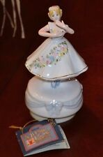 Vintage Schmid Music Box Dancer, 1985 Yamada Collectible, Number 306, With Tag