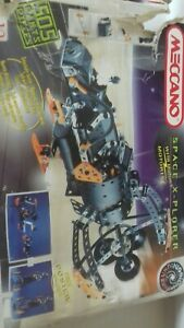 Meccano 1997 Space X - Plorer 4840, with instructions complete & working motor.