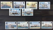 île de Man Neuf / Isle of Man ** : Série Bateaux 1993 Neufs, Cote 21€