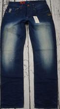 GSTAR Mens Denim Straight Leg Jeans Paint Splat Dark Wash UK Size 30W 34L *REF86