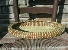 Sweetgrass Oval Fruit & Bread Tray (Moses Basket)