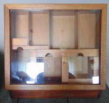 J. Cortès Cigars - vintage cigar brown wooden display