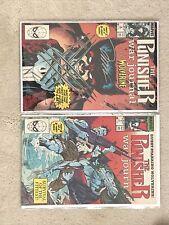 Marvel The Punisher War Journal 6, 7 signed Jim Lee