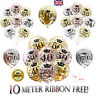 Rose Gold Happy Birthday Bunting Balloons 18/21st/30/40/50/60th Party Baloons