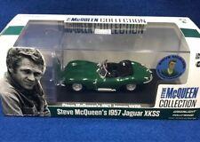 1:43 Steve McQueen 1957 Jaguar XKSS with Steve McQueen Figure  GREENLIGHT #86434