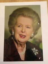 More details for margaret thatcher british prime minister autographed signed photo + coa
