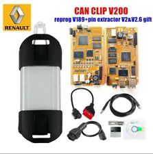 Full Chip for Renault can clip V200 v198 Reprog V181 AN2135SC/AN2131QC Gold PCB