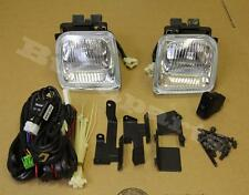 1 Pair Clear Len Driving Fog Lights + Lamp 1996-1998 Honda Civic 2/4 DR
