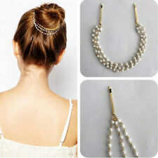 New Lady's Metal Rhinestone Head Chain Jewelry Headband Head Piece Hair Band