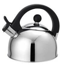 Home Basics NEW Stainless Steel Whistling Tea Kettle, 2.5 Liter - TK30342