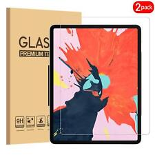 (2 Pack) For Apple iPad Pro 11 (2018) Tempered Glass Screen Protector