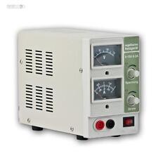 Labornetzgerät regelbar, 0-15V 0-2A, regelbares Labornetzteil, Stelltrafo DC