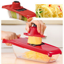 5 Blades Shredder Grater Slicer Chopper Vege Cutter Kichen Food Preprepared Tool