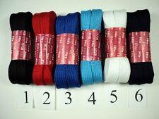 New 100 Inch Wide Shoelaces Color Shoe Lace Inline Roller Skate Dancer Corset Xl