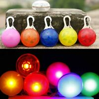 New LED Dog Cat Pet Puppy Collar Night Safety Bright Flashing Light Up Necklace