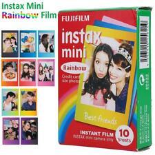 Fujifilm Instax Film Rainbow Edge 10 Sheets for Fuji Instax Mini 7s/8/25/50/90