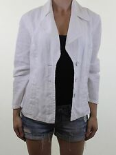 Monsoon Linen Patternless Casual Coats & Jackets for Women