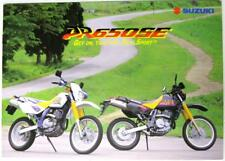 SUZUKI DR650SE Aug 1995 #99999-A1104-1T1 Original Motorcycles Sales Brochure